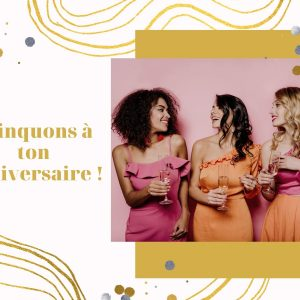 carte anniversaire copines